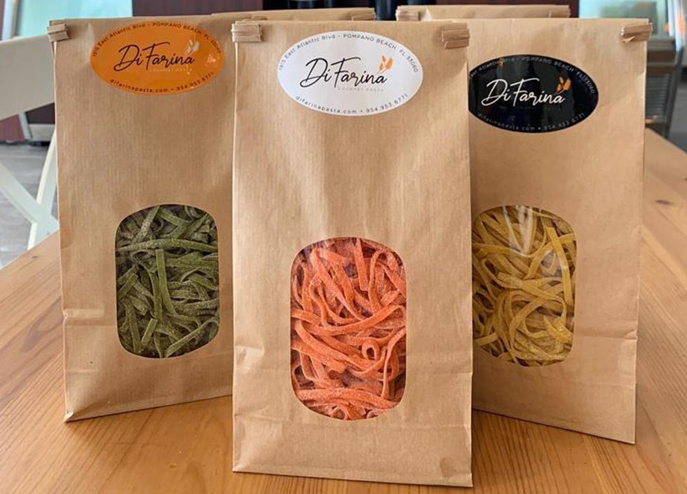 DiFarina packaging from factory